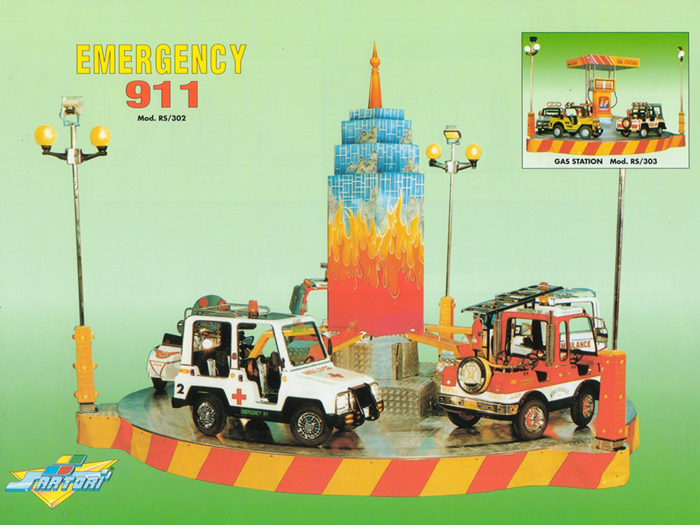 EMERGENCY 911 RS/302 4