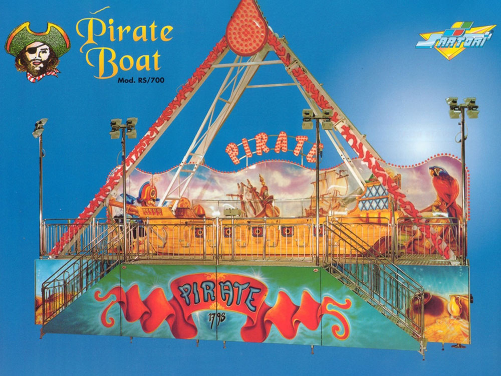 PIRATE BOAT RS/700 5