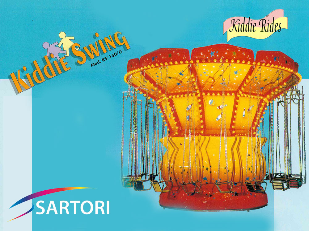 KIDDY SWING - CIRCUS SWING RS/150/D 2